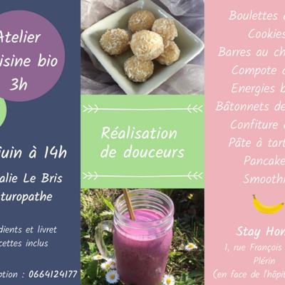 Atelier cuisine bio - Plérin